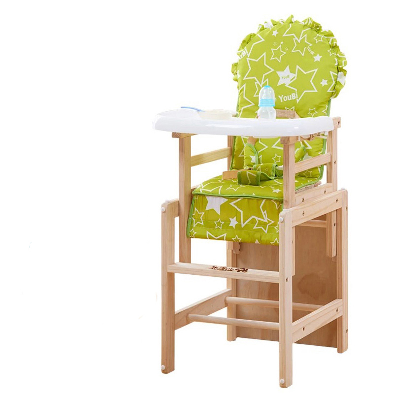 Soild Wood Baby High Chair Booster Seat Multi Function Adjustable Baby  Eating Dining Table Chair Seating Kids Chair For Feeding In Booster Seats  From Mother ...