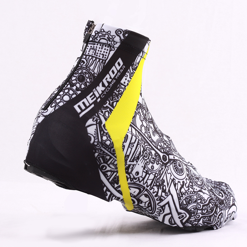 Original Meikroo Team Pro Summer  Overshoes Cycling Bike Shoe Covers Windproof Bicycle Protective Shoes Sleeves