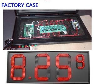 Image 2 - 4 מספרים נהג כרטיס להשתמש עבור 18 אינץ כדי 32 אינץ LED דיגיטלי מספר מודול גז שמן מחיר LED סימן שליטת כרטיס