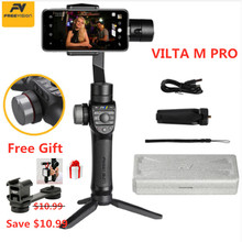Freevision VILTA M PRO Handheld 3-axis Gimbal Smartphone Stabilizer Handle for Vlog Mic Phone iPhone 8 Samsung S8 Gopro Video