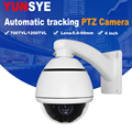 YUNSYE mini high outdoor Auto -tracking Speed Dome Auto 1/3 sony CCD 700tvl 10X speed dome camera Auto -tracking PTZ camera