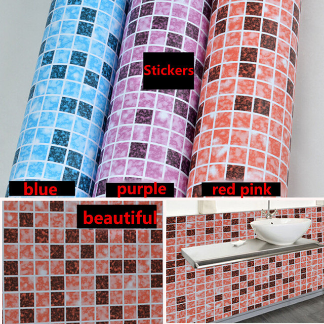 US $26.99 |Self Adhesive Vinyl Tapete Mosaik Fliesen Grenze Aufkleber Küche  Decor DIY Wand aufkleber in Self Adhesive Vinyl Tapete Mosaik Fliesen ...