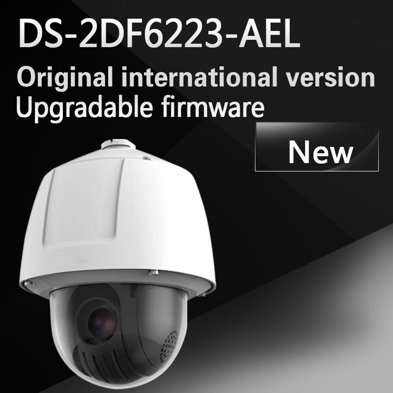 Free shipping DS-2DF6223-AEL English version 2MP Ultra-low Light Smart PTZ Camera 23X Optical Zoom hikvision ds 2de7230iw ae english version 2mp 1080p ip camera ptz camera 4 3mm 129mm 30x zoom support ezviz ip66 outdoor poe