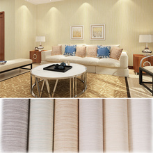 купить Simple Cozy Solid Color Modern Textured Wallpaper For Walls Bedroom Living room Background Decor Non Woven Wall paper Rolls по цене 1216.65 рублей