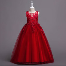 a17b00c38c299 White and Red Flower Girl Dresses Promotion-Shop for Promotional ...