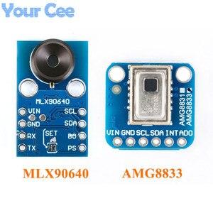 Image 1 - AMG8833 IR 8*8 MLX90640 32*24 תרמית Imager מערך טמפרטורת חיישן מודול 8x8 32x24 אינפרא אדום מצלמה חיישן