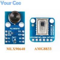 AMG8833 IR 8*8 MLX90640 32*24 Thermal Imager Array Temperature Sensor Module 8x8 32x24 Infrared Camera Sensor