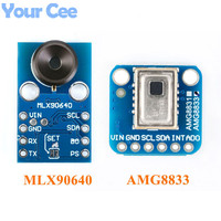 AMG8833 IR 8*8 MLX90640 32*24 Thermal Imager Array Temperature Sensor Module 8x8 32x24 Infrared Camera Sensor
