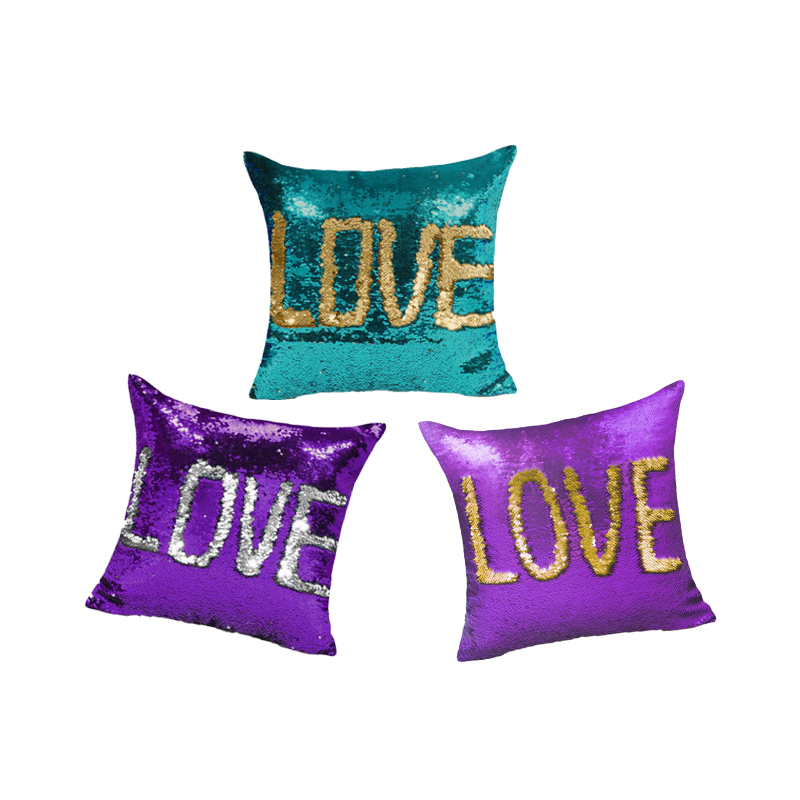 Fine Monily Magical Diy Sequins Sparkle Cushion Cover Reversible Unemploymentrelief Wooden Chair Designs For Living Room Unemploymentrelieforg