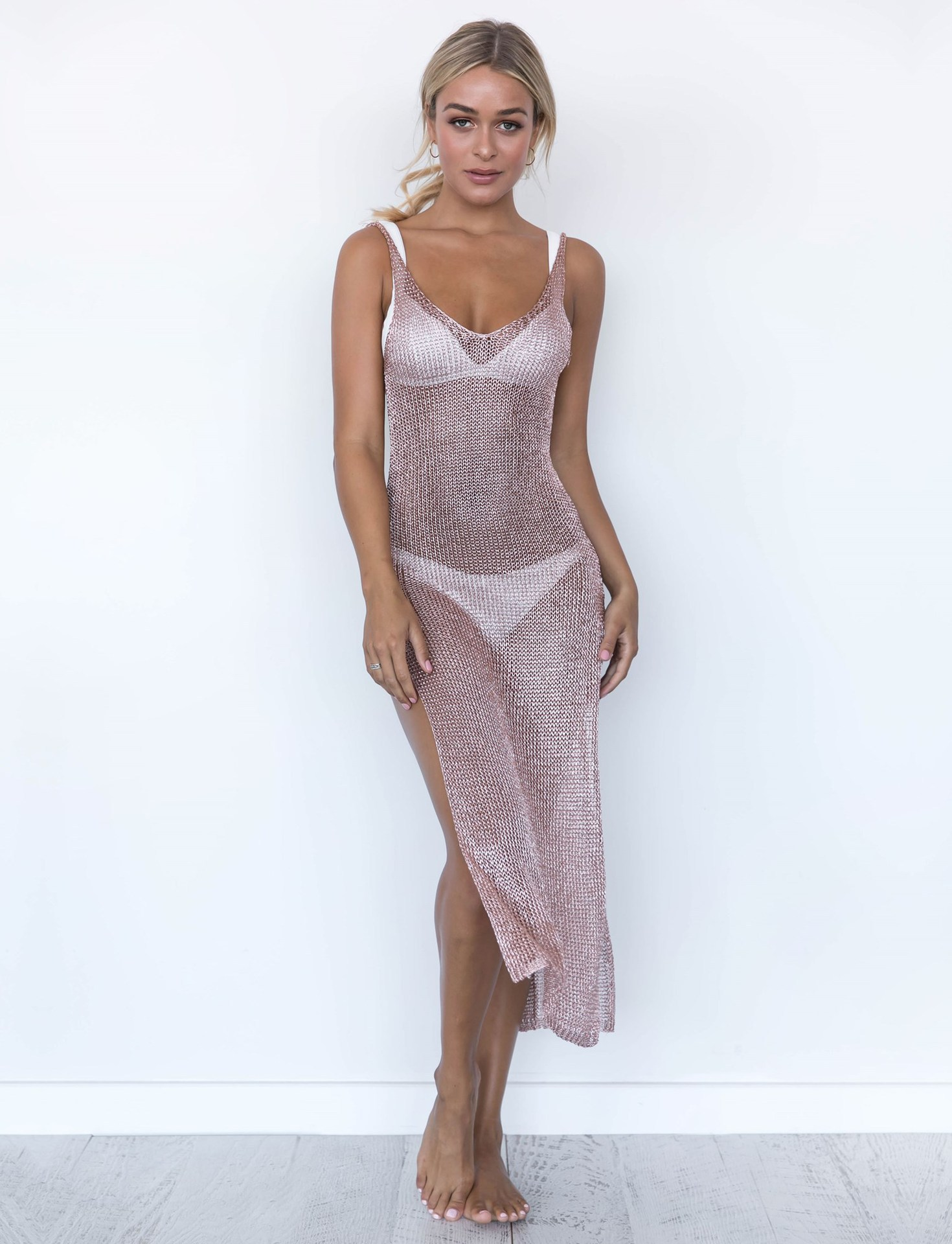 Halter Swimsuit Beach Cover UPS and Dresses