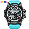 2017 new Digital LED multifunction Mens casual Watches men's sports watch Outdoor waterproof G watch male Students Wristwatches