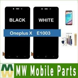 Z zestawem do wyświetlacza LCD OnePlus X E1003 + zespół ekranu dotykowego Oneplus One / OnePlus 3 / Oneplus 5 / Oneplus 5T