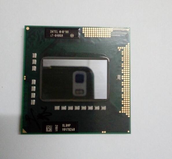 Intel I7 840QM Mobile Laptop Cpu PGA988 Quad Core Eight Threads 1.86Ghz Turo To 3.2Ghz /l3 8M TDP 45w ,have A I7 920xm Sell
