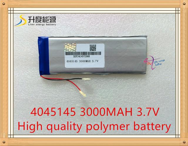 Bateria para tablet 3000 mah 4045145 de polímero de lítio tablet bateria com placa de proteção para tablet m701 soaiy teclast p76a