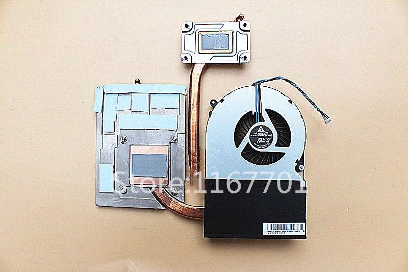 Ordinateur portable/ordinateur portable CPU refroidissement radiateur et ventilateur pour Toshiba Qosmio X870 X875 KSB0705HA-A-BL68 V000280340