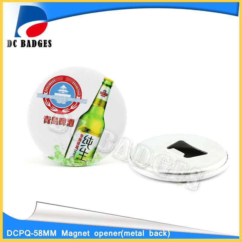 High Quality of 2 1/4 58mm 500sets Magnet Bottle Opener material corporate governance and quality of earnings