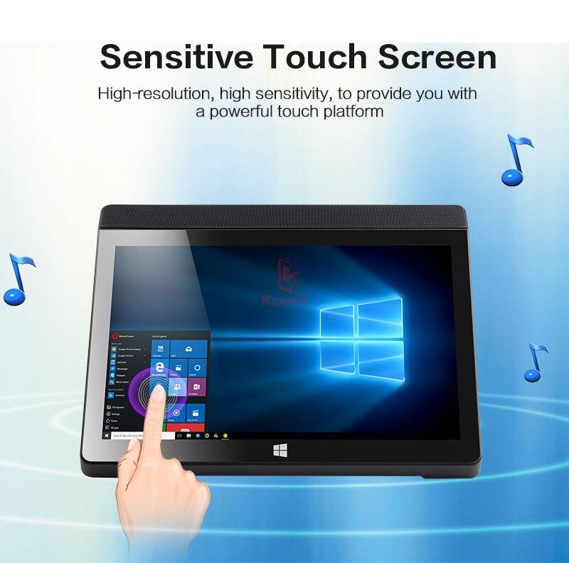 Мини-ПК настольный компьютер планшет все в одном ПК A9 Windows 10 домашний 10,1