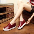 2017 NEW WOMEN FASHION CASUAL SHOES GENUINE LEATHER THICK BOTTOM BREATHABLE HEIGHT INCRASING WOMEN SHOES SZIE 34-39