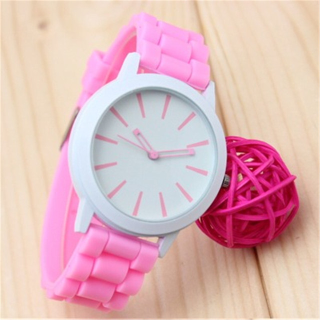 Mance 14 Color Hot Sale watch women sport brand fashion Silicone Rubber Jelly Ge