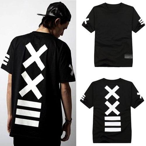 a60a98e52c1 Free shipping Wholesale Cheap t shirts! 2013 Kanye west new brand HBA tee  pyrex ==XX printed t-shirt 100% cotton Black/While