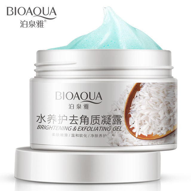 BIOAQUA Deep Exfoliator Gel Scrub Smooth Moisturizing Skin Care Whitening Face Cream Anti Aging Repair Exfoliator Scrub