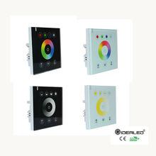RGB/RGBW настенная сенсорная панель контроллер стеклянная панель диммер контроллер для DC12V-24V Светодиодные ленты RGB контроллер