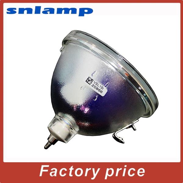 Original Bare Lamp Rear Projector TV Bulb / lamp P-VIP 100-120 / 1.3 E23h for Projectors large screen rear projection lamp bulb big screen special p vip 100 120 1 3 e23h for rear tv rear projector