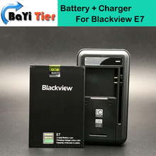 100% New Blackview E7 Battery + Desktop Dock Wall Charger 2700mAh Lithium-ion Battery for Blackview E7 Smartphone +in stock