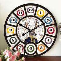Decorative Large Wall Clock Modern Design Fashion Silent Meeting Room Wall Decor Clock Home Decoration Watch