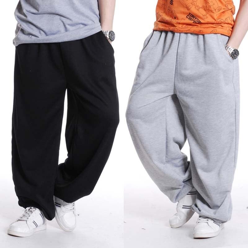 Mode Hip Hop Streetwear Harem Hommes Pantalon Lâche Baggy Jogging Track Pantalon Coton Pantalon Occasionnel Mâle Vêtements