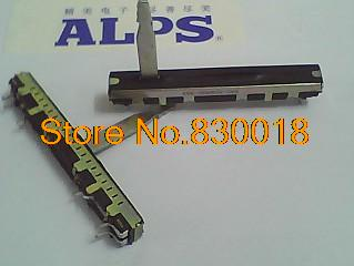 [ SA ]Japan ALPS 6cm Slide Potentiometer 446C-09369034-10KB associated stepper 20:00 single step 30mm handle--1 - ELECTRONICS TECHNOLOGY LIMITED store