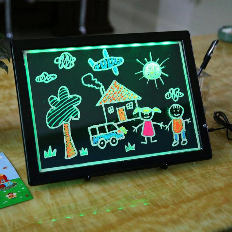 Portable Black Digital LCD Writing Tablet Electronis