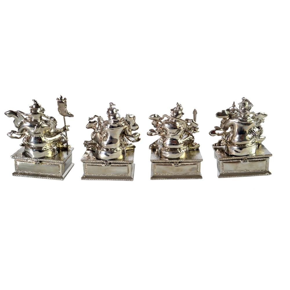 Feng Shui Bejeweled Four Heavenly Kings AA617Feng Shui Bejeweled Four Heavenly Kings AA617