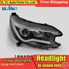 D YL Auto Styling voor Toyota C RV Koplampen 2013 2015 C RV LED Koplamp DRL Bi Xenon Lens Hoge Dimlicht parking Fog Lamp - 4