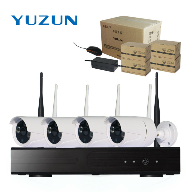 CCTV Sistemi 1080 P 4CH HD Kablosuz cctv kiti 2MP IR Güvenlik IP - Güvenlik ve Koruma - Fotoğraf 6