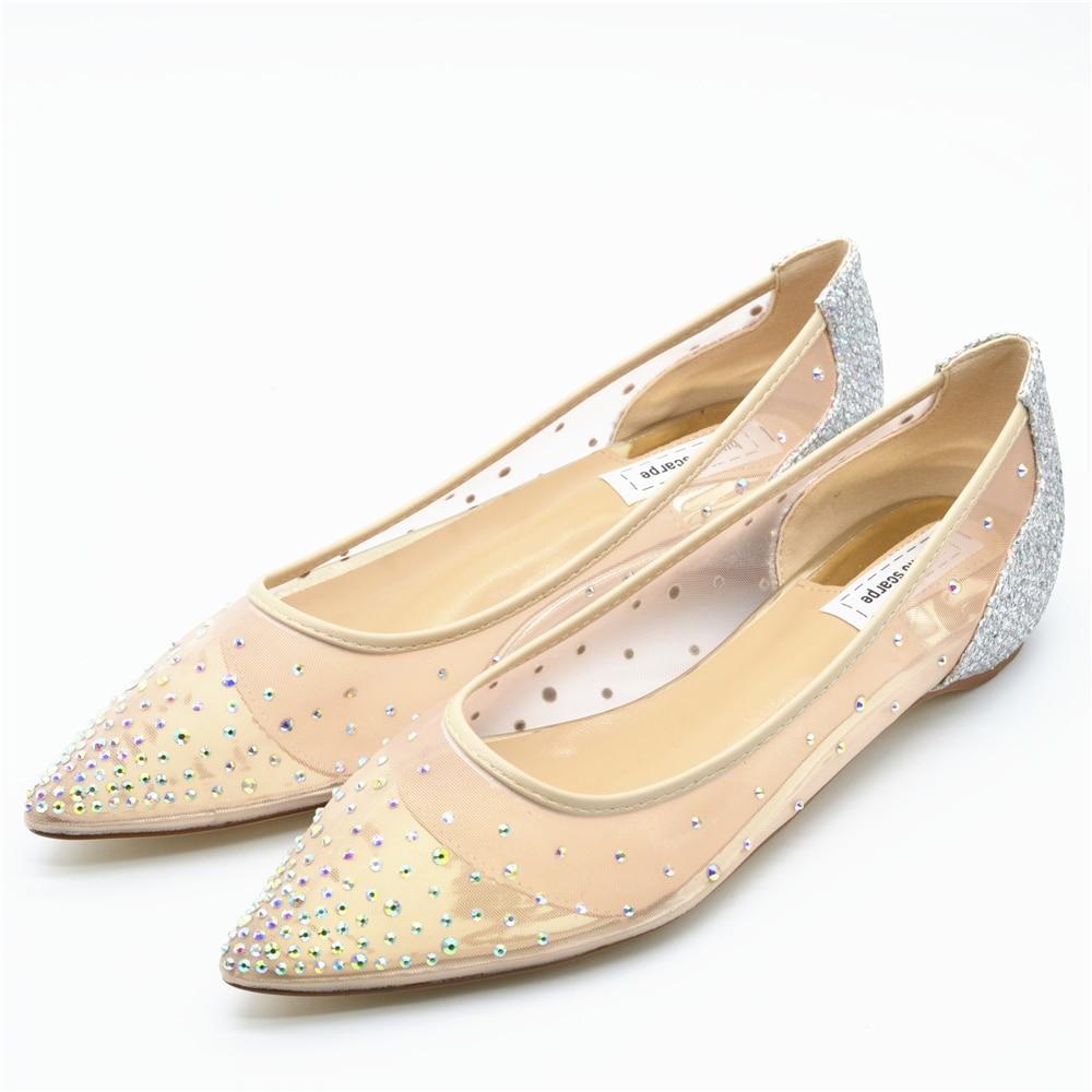 Buono Scarpe Women Pointed Toe Heels Crystal Bling Fashion Silver ... 0ba5b1058ba7
