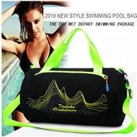 Спортивная сумка для плавания, водонепроницаемая сумка для путешествий и плавания, сумки для тренировок, 2019