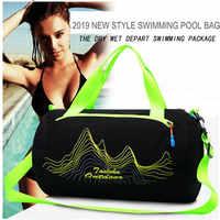 2019 Swimming Bag Dry & Wet Separation Sports Bag for Travelling and Swimming Waterproof Swimming Handbag Training Shouler Bags
