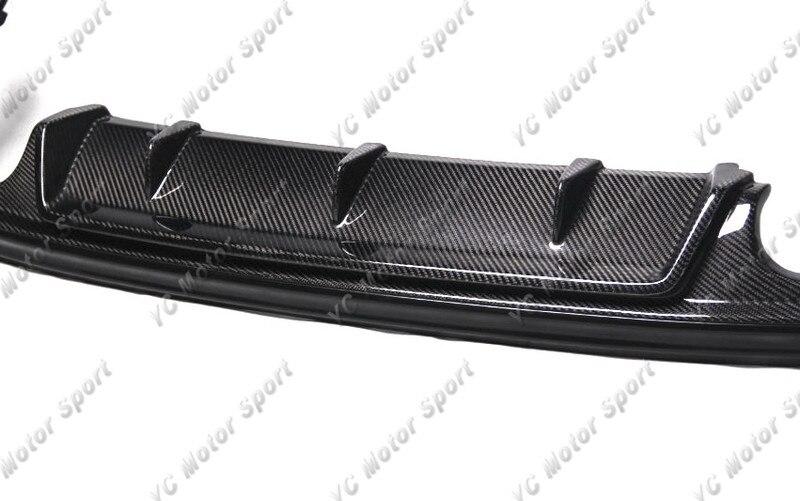 Car Accessories Carbon Fiber Aimgain Style Rear Diffuser Fit For 2013-2015 Lexus IS F Sport Sedan Rear Lower Lip