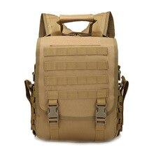 Oxford cloth shoulders tablet computer military camouflage backpack waterproof bag Single shoulder bag Multi purpose Hike travel