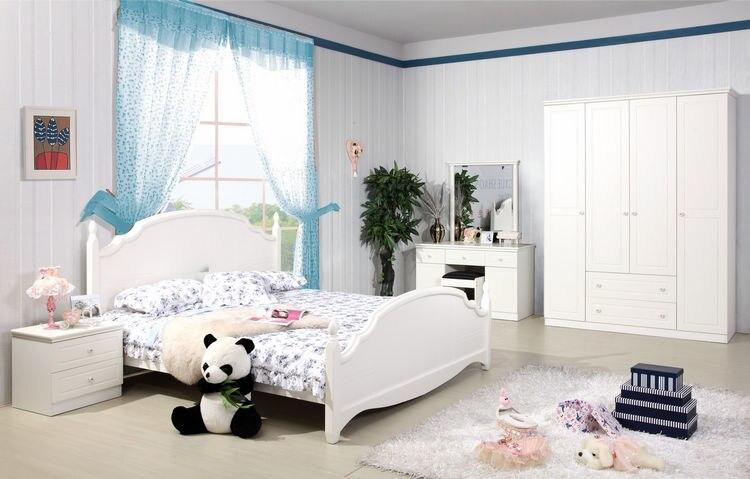 Children\'s furniture suite combination of children\'s beds ...