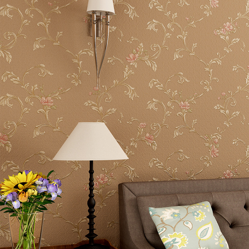 beibehang retro garden flower 3d wallpaper roll mural papel de parede floral Papel Decorativo wall paper Living Room flooring beibehang decoration velvet floral wallpaper roll flocking flower wall paper mural wallpaper for living room papel de parede 3d
