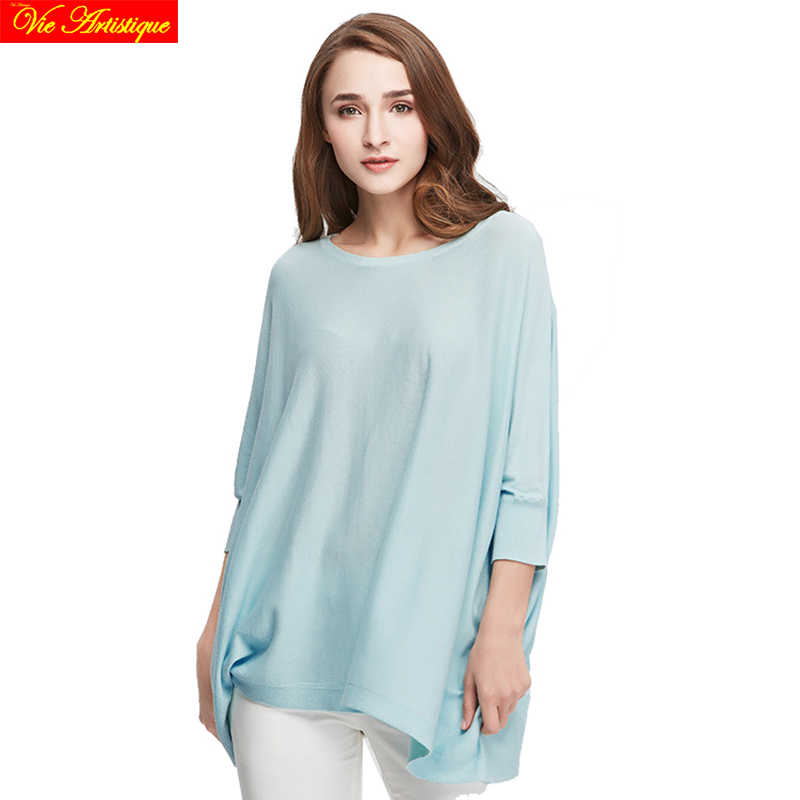 womens sweat fem me long Christmas sweaters and pullovers loose large size turtleneck classic pink blue grey 2018 spring sumVA