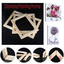 5D алмазная картина рамка фоторамка DIY Вышивка крестиком деревянный квадрат де parede деревянная рамка украшение альбома