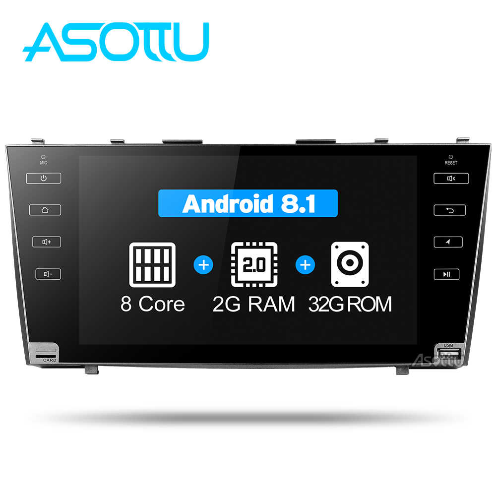 Asottu CLKMR9060 IPS Android 8.1 2G car gps navigation for Toyota camry 2008 2009 2010 2011 car dvd player car stereo radio gps