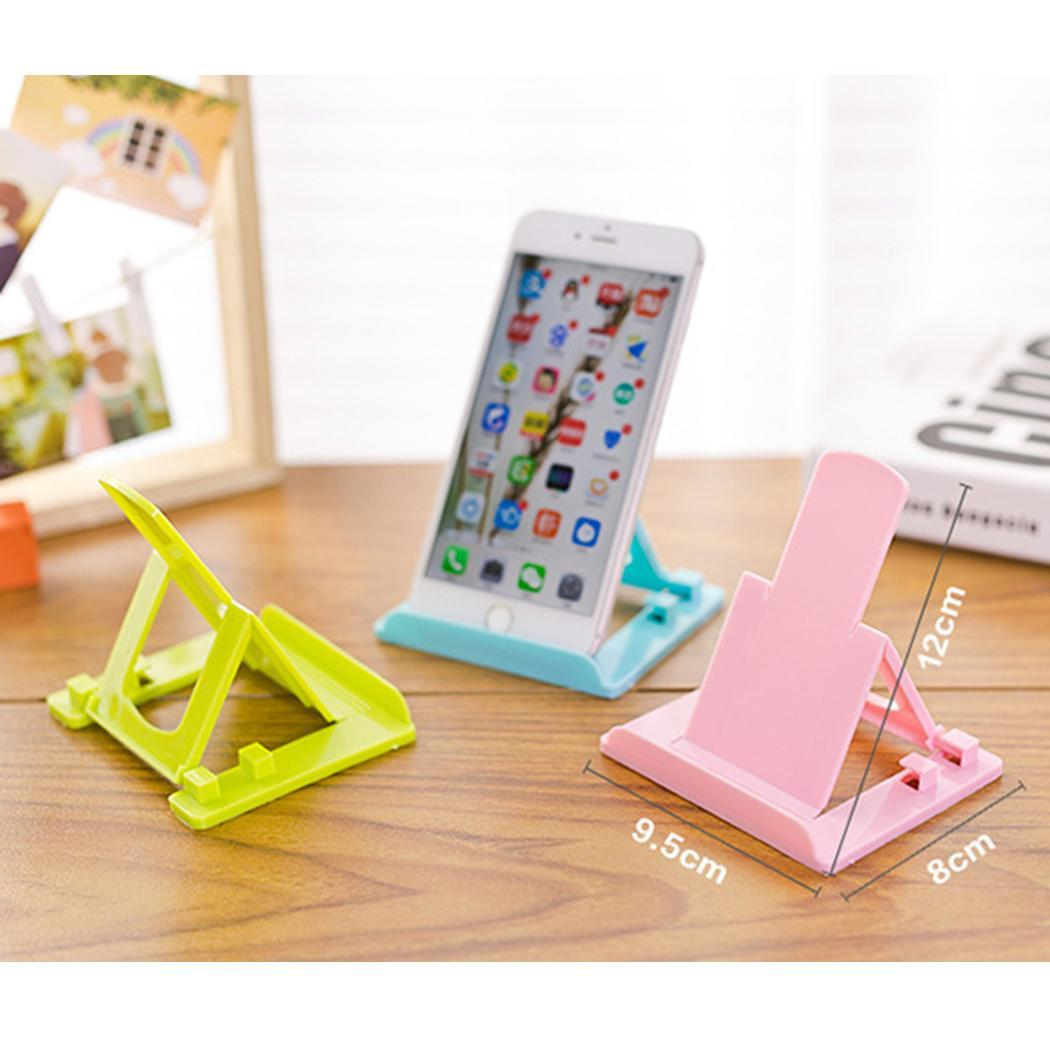 Universal Folding Table Phone Support Desktop Stand Phone Smartphone Tablet Support Phone Holder For Xiaomi MI iPhone X  Note8 usb battery bank charger