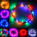 Super Bright! 3M 30LED Copper Wire Xmas Party String Fairy Light Battery Operated Wedding100% Free Shipping & High Quality