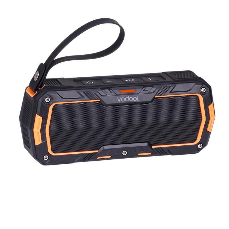 VODOOL Kraken-L Outdoor Sport Wireless Bluetooth Speaker Portable Motorcycle Bike Handlebar Mount 2 CH Stereo Speakers Sound Box