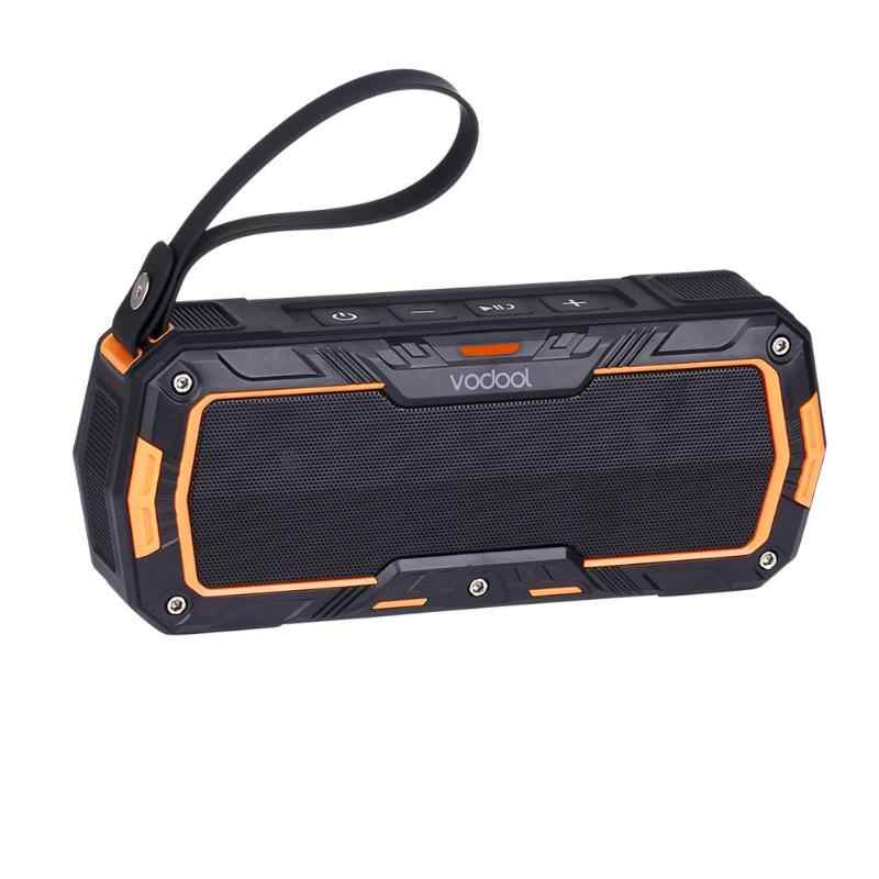 VODOOL Kraken-L Outdoor Sport Wireless Bluetooth Speaker Portable Motorcycle Bike Handlebar Mount 2 CH Stereo Speakers Sound Box