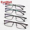 2017 Новое Поступление оптически рамки Бренд Дизайн очки Сплава полный кадр очки бизнес мужчины очковая оправа